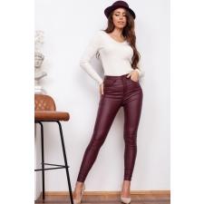 Veinipunased nahksed püksid