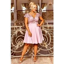 Pastell roosa kleit