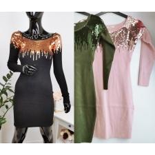 Roosa litritega kleit