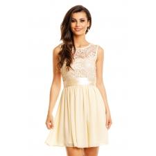 Kreemjas kleit